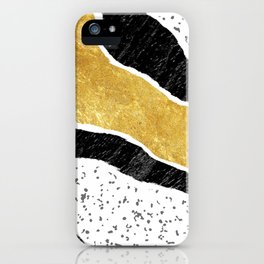 Torn Abstract Art 05 iPhone Case