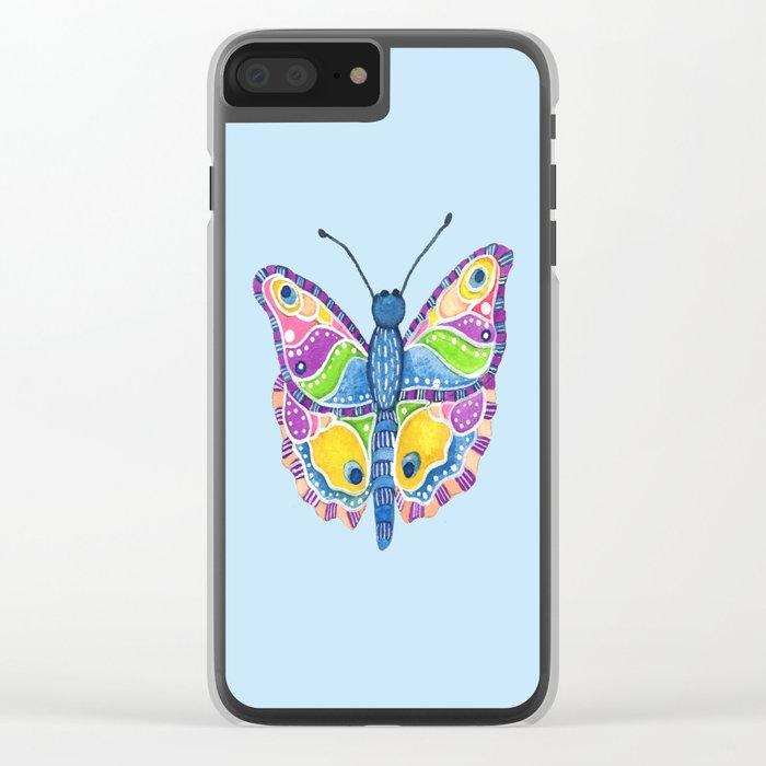 Butterfly II Clear iPhone Case