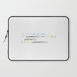 You Can Laptop Sleeve