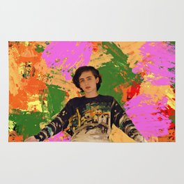 Timothee Chalamet - Celebrity Art Rug