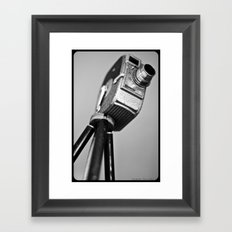 Video Vixon Time Framed Art Print