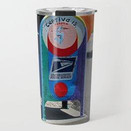 Captiva Island Mailbox- horizontal Travel Mug
