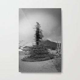 Melted Tree Metal Print