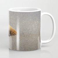 seashell Mugs featuring Seashell by Maria Heyens