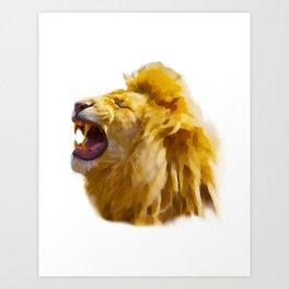 Hakuna Simba Art Print