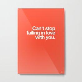 Failing / Original Version Metal Print