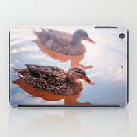 duck iPad Cases featuring Duck by DistinctyDesign