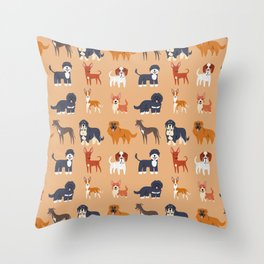 IBERIAN DOGS Throw Pillow