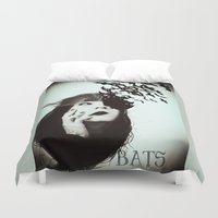 bats Duvet Covers featuring Bats by Nuria Mrtz. FotoArt