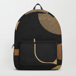 Subtle Opulence - Minimal Geometric Abstract 2 Backpack