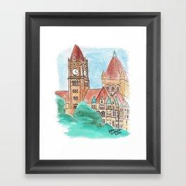 Landmark Center - St. Paul Sights Framed Art Print