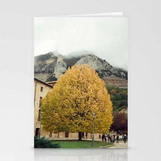 autumn tree Stationery Cards