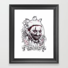 xoxo Twisty Framed Art Print