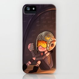 Waiting... iPhone Case
