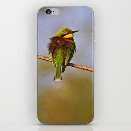 Three bee-eaters, Africa wildlife iPhone Skin