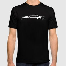 1980 Porsche 930 Turbo Mens Fitted Tee LARGE Black