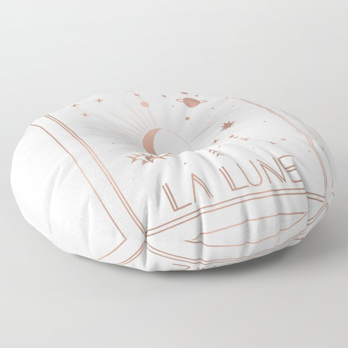 La Lune or The Moon White Edition Floor Pillow