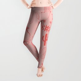Fiesta Desert Pattern Leggings