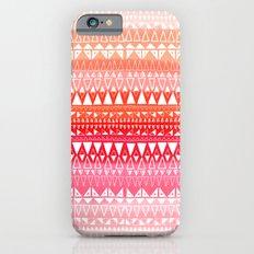 Triangle Gradient Pink Mix iPhone 6s Slim Case