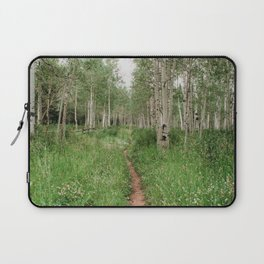 Wander Through The Aspen Forest Laptop Sleeve