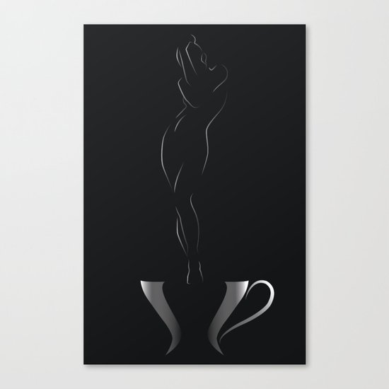 Good morning,Genie! Canvas Print