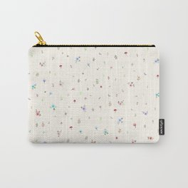 Pretty and Sweet Florals Carry-All Pouch
