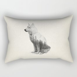 Ghost Dog - Mansi Rectangular Pillow