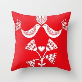 Scandinavian Christmas 01 Throw Pillow
