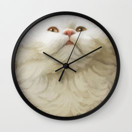 Round Cat - Yom Wall Clock