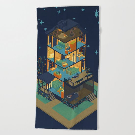 The Final Problem Beach Towel