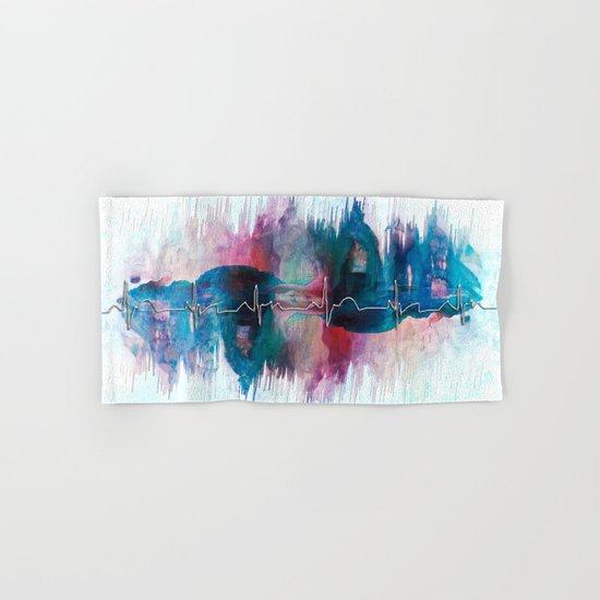 Heartbeat Drama Hand & Bath Towel