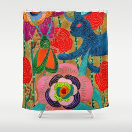 You Don't Have To Go Home, You Can Stay Here Shower Curtain