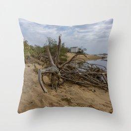 Seaside 11 Throw Pillow