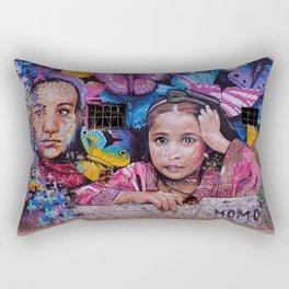 Child of Innocence - Graffiti Rectangular Pillow