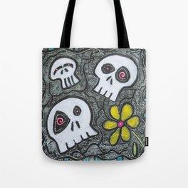 Digging for Skulls Tote Bag