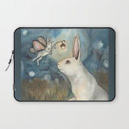 Night Bunny Fairy Laptop Sleeve