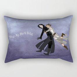 Light Up My Dark Side Rectangular Pillow