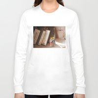 history Long Sleeve T-shirts featuring Remember History by inogitna (Antigoni Chryssanthopoulou)