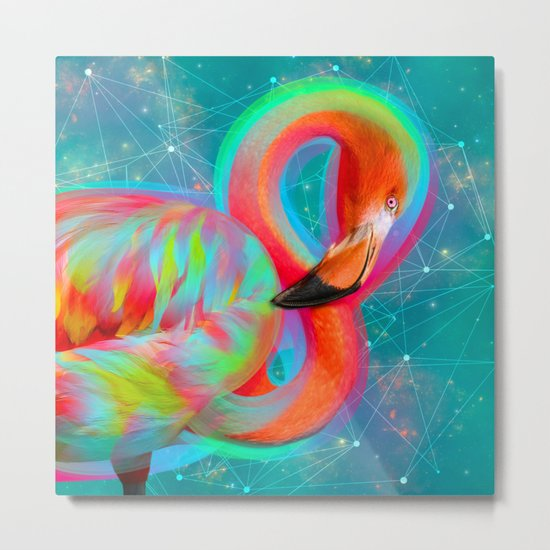 Color Outside the Lines Metal Print