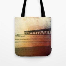 Johnny Mercer's Fishing Pier Tote Bag