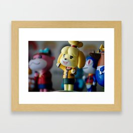 animal crossing Framed Art Print