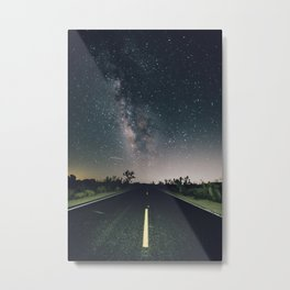 Aliens Exist - Joshua Tree Milky Way Metal Print