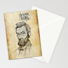 Damn, Lincoln Stationery Cards