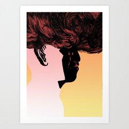 Hot Headed Art Print