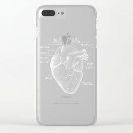 Solar Vascular System Clear iPhone Case