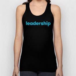 Leadership Tank Unisex Tank Top