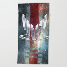 N7 Spectre Beach Towel