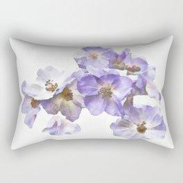 Rosa canina - watercolour Rectangular Pillow