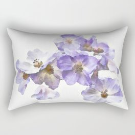 Rosa canina - watercolour Rectangular Pillow