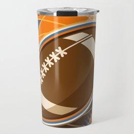 American Football Sport Ball Travel Mug